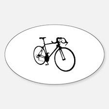 Racing bicycle Decal