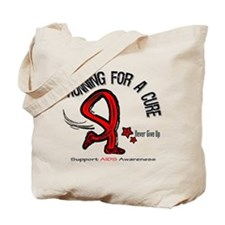AIDS Running For A Cure Tote Bag