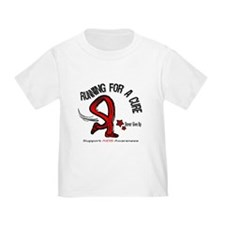 AIDS Running For A Cure T