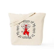AIDS In Memory Hero Tote Bag