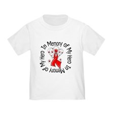 AIDS In Memory Hero T