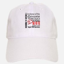 AIDS IWearRed Ribbon Tribute Baseball Baseball Cap