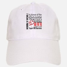 AIDS IWearRed Ribbon Tribute Hat