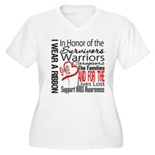 AIDS IWearRed Ribbon Tribute T-Shirt