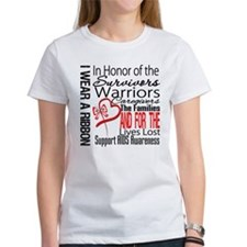 AIDS IWearRed Ribbon Tribute Tee