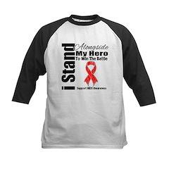 AIDS I Stand Alongside Hero Tee