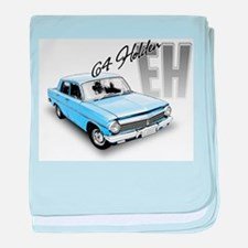 Funny 1964 baby blanket