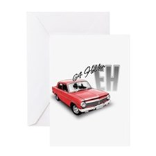 EH 4 red Greeting Cards