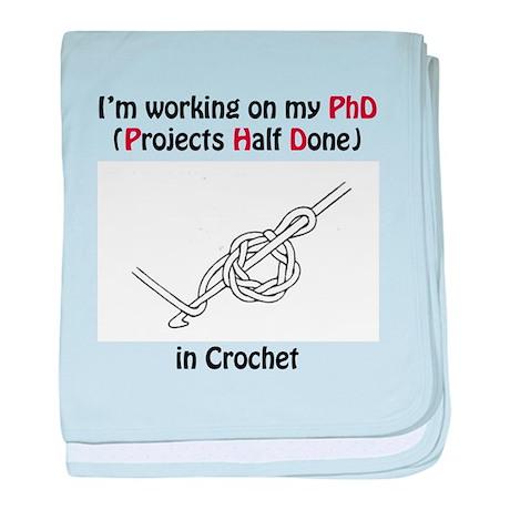 Crochet PhD baby blanket