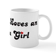 Loves Indiana Girl Small Mug