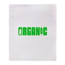 100 Percent Organic Throw Blanket
