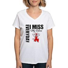 AIDS Everyday I Miss My Hero Shirt