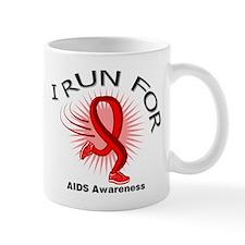AIDS I Run For Awareness Mug