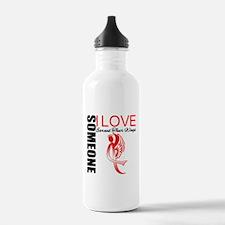 AIDS Earned Wings Water Bottle