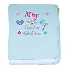 Maya - Grandpa's Little Princ baby blanket