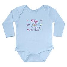 Maya - Grandpa's Little Princ Onesie Romper Suit