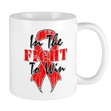 AIDS In The Fight To Win Mug