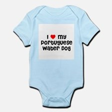 I * my Portuguese Water Dog Infant Creeper