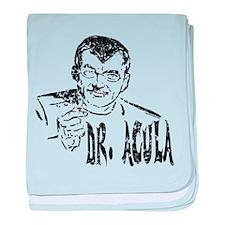 Dr Acula baby blanket