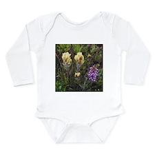 Wildflower Tundra- Long Sleeve Infant Bodysuit