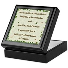 Cute Msw Keepsake Box