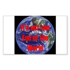 End of the World Decal