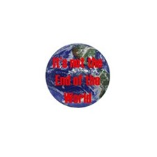 End of the World Mini Button