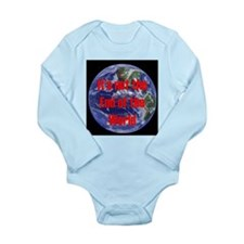 End of the World Long Sleeve Infant Bodysuit