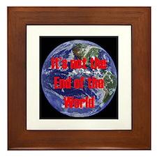 End of the World Framed Tile