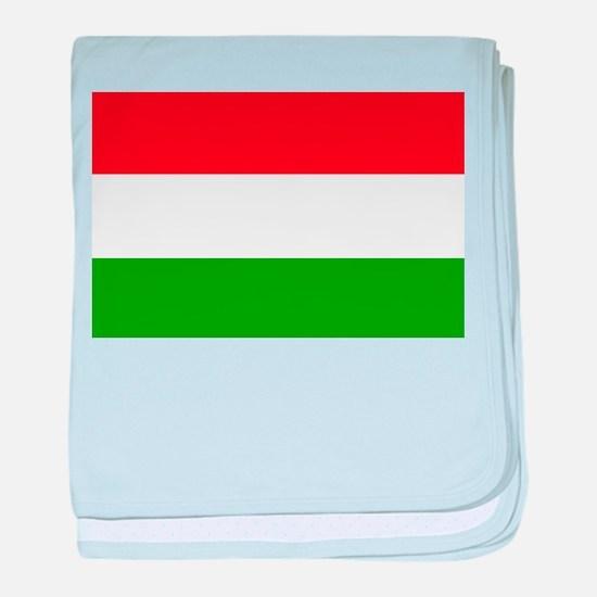 Hungary baby blanket