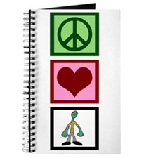 Peace Love Zombies Journal