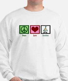 Peace Love Zombies Sweatshirt