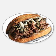 Steak Sandwich Decal