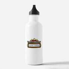 World's Greatest Teacher Assi Water Bottle