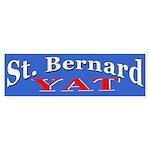 St. Bernard Yat Bumper Sticker