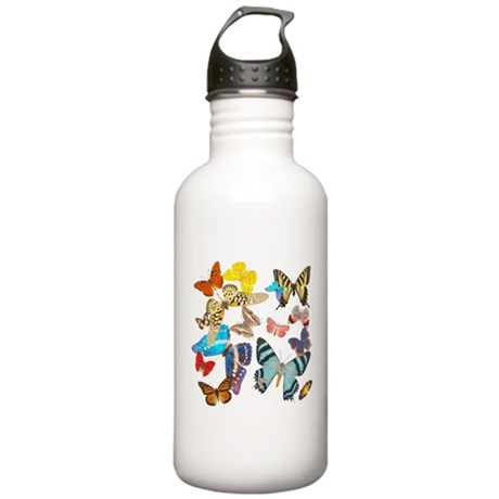 Beautiful Butterflies Stainless Water Bottle 1.0L