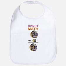 Donut Math Bib