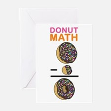 Donut Math Greeting Cards (Pk of 20)