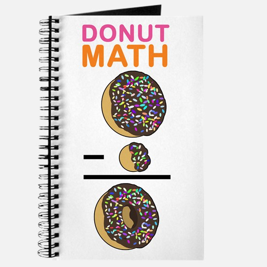 Donut Math Journal