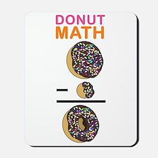 Donut Math Mousepad