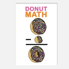 Donut Math Postcards (Package of 8)