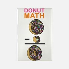 Donut Math Rectangle Magnet