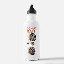 Donut Math Water Bottle