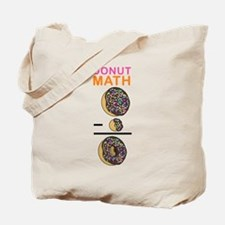 Donut Math Tote Bag