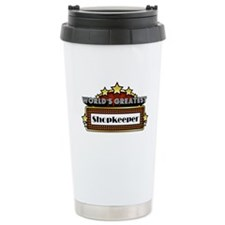 World's Greatest Shopkeeper Travel Mug