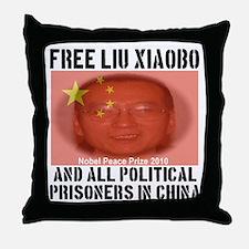 Free Liu Xiaobo Throw Pillow