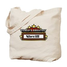 World's Greatest Sheriff Tote Bag