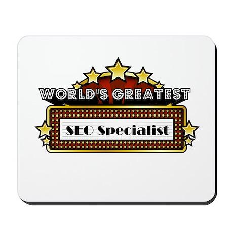 World's Greatest SEO Speciali Mousepad