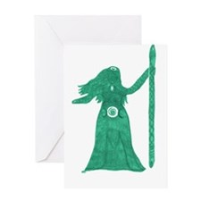Goddess Greeting Card- All Goddess Art