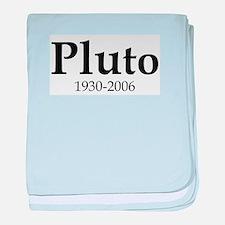 Pluto Dates baby blanket